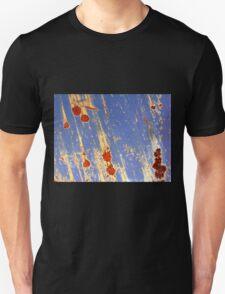 meteor shower in dumpster blue T-Shirt