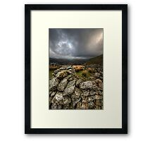 Sheep Fold Framed Print