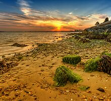 UK/Poole - Harbour's Sunset by Pawel Tomaszewicz