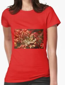 Grevillea Macro Womens Fitted T-Shirt