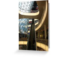 Glass Steel and Movement Greeting Card