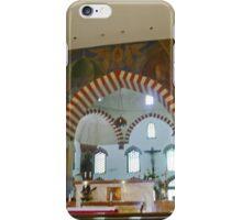 Inner City Parish Church, Pecs, Hungary, interior  iPhone Case/Skin