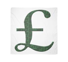 Digital Currency UK pounds Scarf
