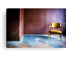 Just a Chair Canvas Print