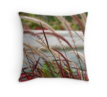 Fuzzy Tails Throw Pillow
