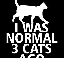 I Was Normal 3 Cats Ago by uniquecreatives