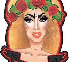 "'Your makeup is terrible"" Alaska Portrait Edit by bacibella"