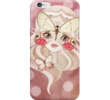 Merolina Moth Girl iPhone Case/Skin