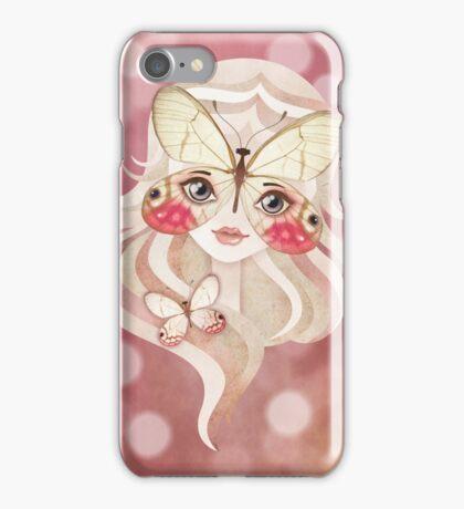 Merolina Moth Girl iPhone Case/Skin