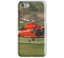 US CG 6570 Helicopter at AHAS 2015 Los Angeles iPhone Case/Skin