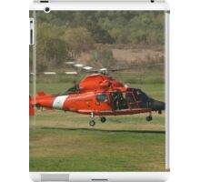 US CG 6570 Helicopter at AHAS 2015 Los Angeles iPad Case/Skin