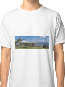 Waiting his turn, Mt Tamborine, Qld, Australia - Panorama Classic T-Shirt