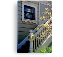 Upstairs Reflected, Downstairs Metal Print