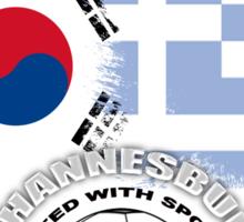 SOUTH KOREA VS. GREECE Sticker