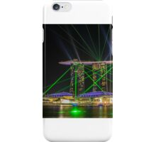 Laser and light show iPhone Case/Skin