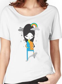 RAIN OVER ME Women's Relaxed Fit T-Shirt