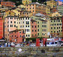 Colourful Camogli by sstarlightss