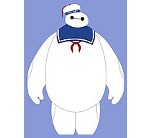 Stay Puft Baymax Parody Photographic Print