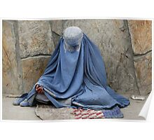Burqa - Never again Poster