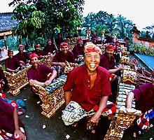 Gamelan Bali Boys by JohnKarmouche