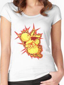 SUPLEX! Women's Fitted Scoop T-Shirt
