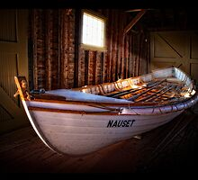 Old life saving boat by bettywiley