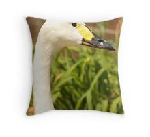 Whooper Head Study Throw Pillow