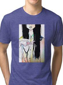 Hair Cut Tri-blend T-Shirt