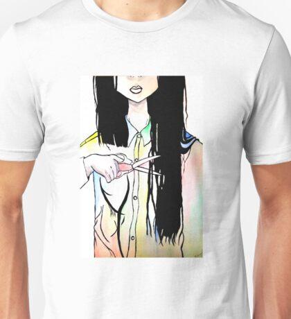 Hair Cut Unisex T-Shirt