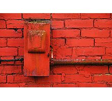 Old Electrical Box Photographic Print