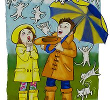 Raining Cats & Dogs by Laura J. Holman