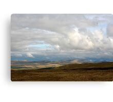 The Howgills, Cumbria, England Canvas Print