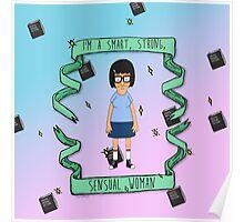 smart, strong, sensual woman Poster