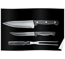 Cutlery Poster