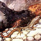Beware the Lizard by Pieter  Zaadstra