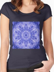Azul Leaves Women's Fitted Scoop T-Shirt