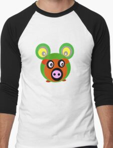 Friends..Froggy Bear Men's Baseball ¾ T-Shirt