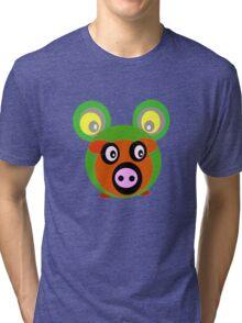 Friends..Froggy Bear Tri-blend T-Shirt