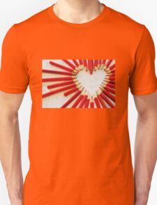 To the heart (texture) T-Shirt