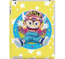 Dr Slump E Arale iPad Case/Skin