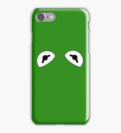 The Frog is watching iPhone Case/Skin