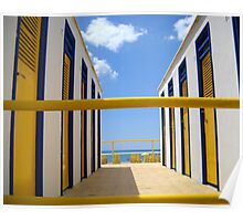 Day At The Seashore Poster