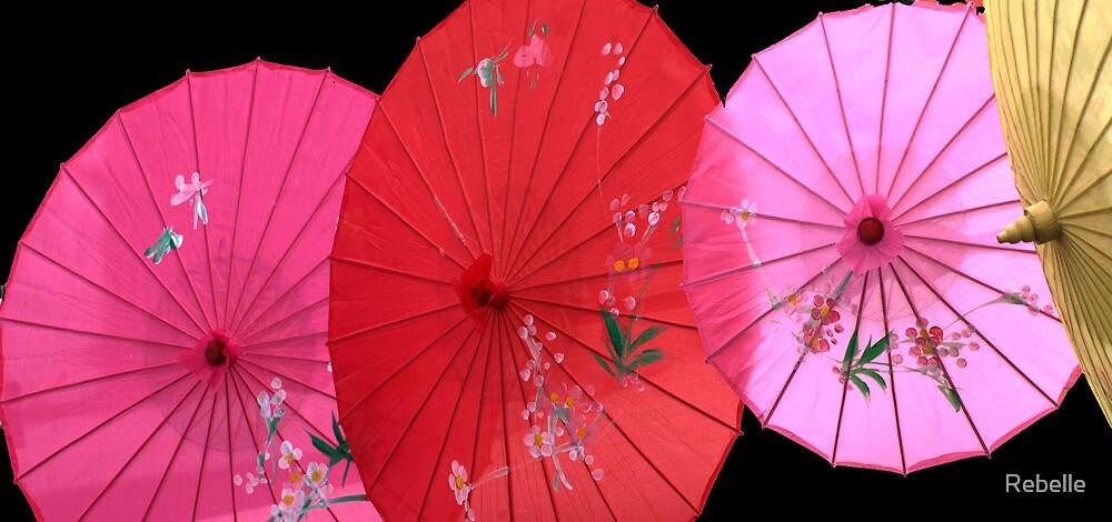Festa-parasols by Rebelle
