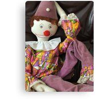 Pagliacci the Clown Canvas Print