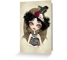 Countess Nocturne Greeting Card