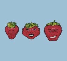 Rawberries One Piece - Short Sleeve