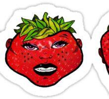 Rawberries Sticker