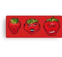 Rawberries Canvas Print