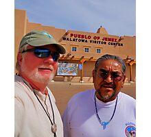 Patrick Romero and me Photographic Print
