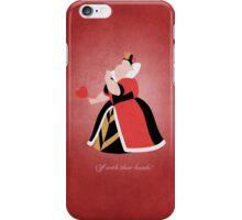 Alice in Wonderland inspired design (Queen of Hearts). iPhone Case/Skin